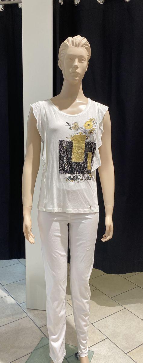Cream T-paita kulta