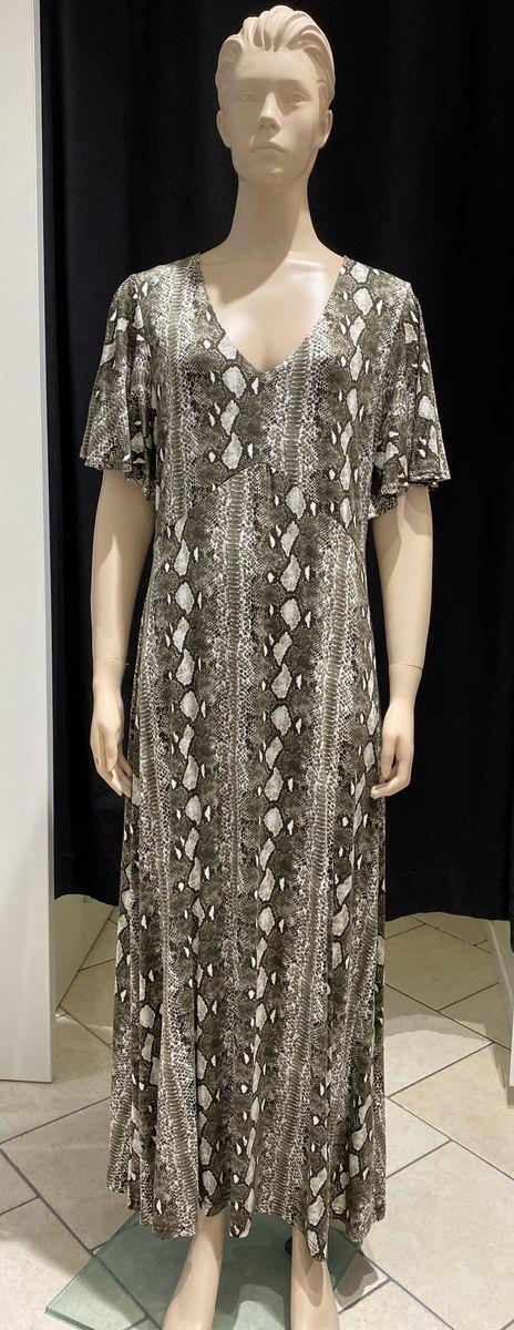 Cream pitkä mekko