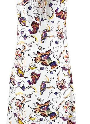 Dress Spaghetti Zilch Hummingbird Off White