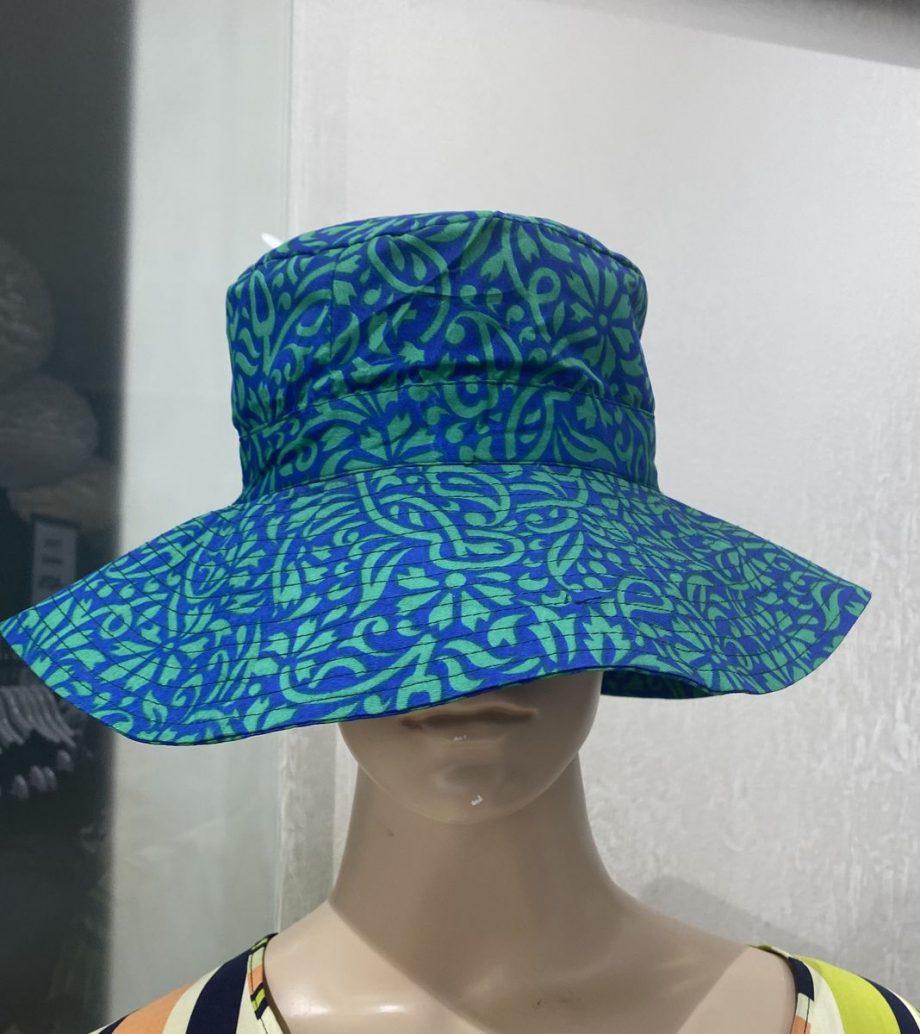 Hazel summer hat  (sininen) Sissel Edelbo