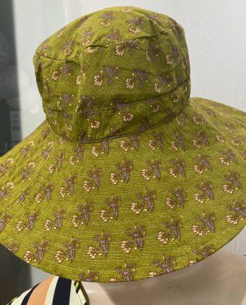 Hazel summer hat  (vihreä) Sissel Edelbo