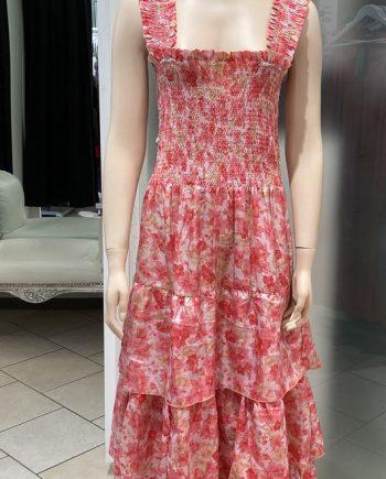 Laura strap dress (pinkki) Sissel Edelbo