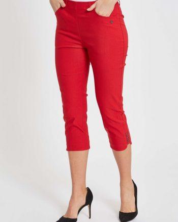 Laurie Mona Slim Capri punainen