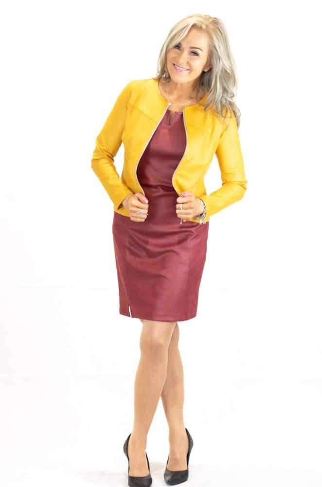 Okran keltainen jakku