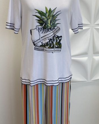 Seeyou valkea ananas-tunika