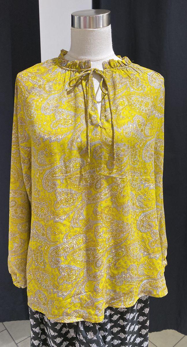 Sissel Edelbo paita keltainen