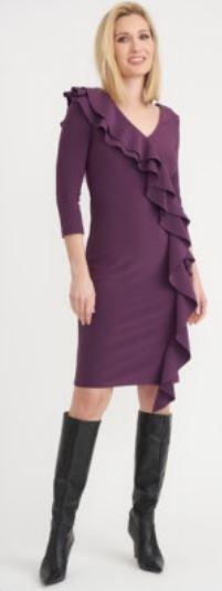 Joseph Ribkoff violetti mekko