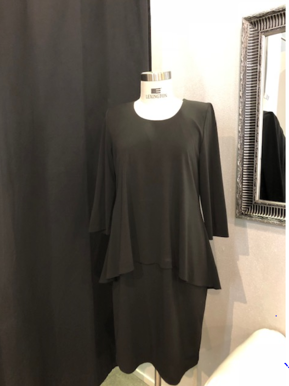 Modelia musta mekko