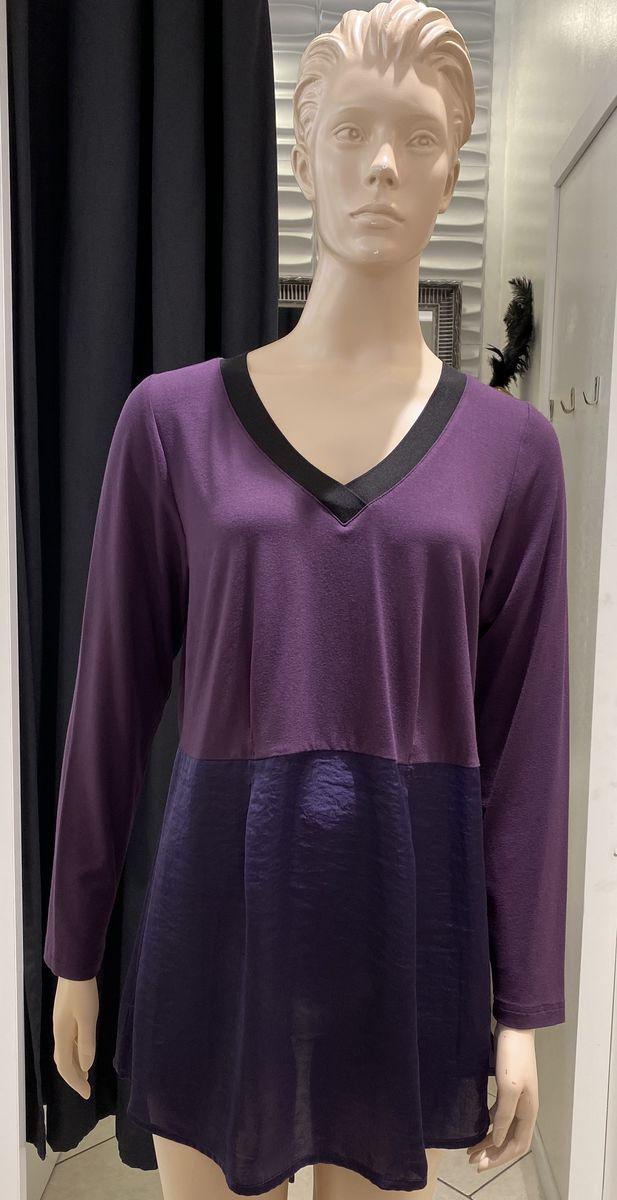 Que violetti tunika