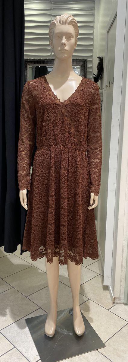 Rosemunde Copenhagen lace dress brown