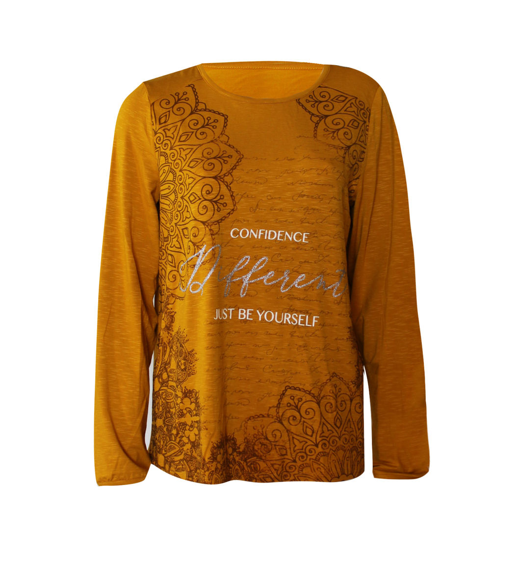 Topsecret keltainen paita