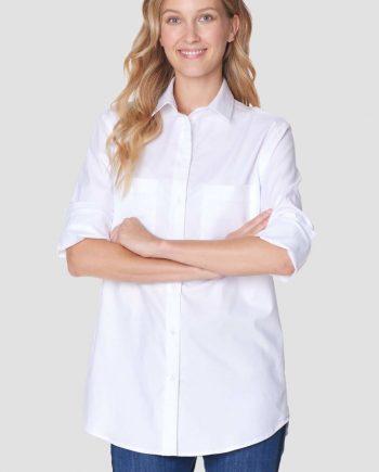 Valkea  paitapusero Voglia