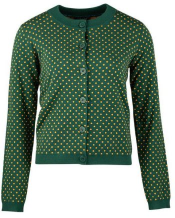 Zilch cardigan dots Forest